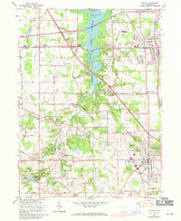 Download a high-resolution, GPS-compatible USGS topo map for Canfield, OH (1971 edition)