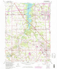 Download a high-resolution, GPS-compatible USGS topo map for Canfield, OH (1979 edition)