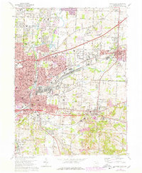 Download a high-resolution, GPS-compatible USGS topo map for Canton East, OH (1978 edition)
