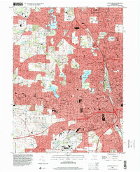 Download a high-resolution, GPS-compatible USGS topo map for Canton West, OH (2000 edition)