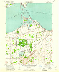 Download a high-resolution, GPS-compatible USGS topo map for Castalia, OH (1965 edition)
