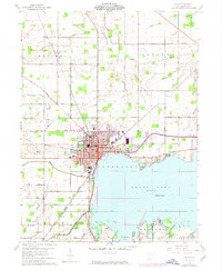 Download a high-resolution, GPS-compatible USGS topo map for Celina, OH (1974 edition)