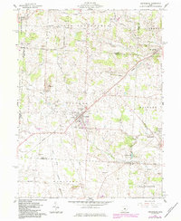 Download a high-resolution, GPS-compatible USGS topo map for Centerburg, OH (1984 edition)