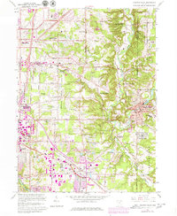 Download a high-resolution, GPS-compatible USGS topo map for Chagrin Falls, OH (1980 edition)