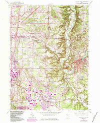 Download a high-resolution, GPS-compatible USGS topo map for Chagrin Falls, OH (1984 edition)