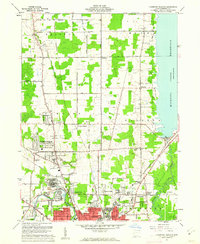 Download a high-resolution, GPS-compatible USGS topo map for Champion Heights, OH (1962 edition)