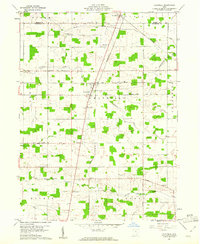 Download a high-resolution, GPS-compatible USGS topo map for Chatfield, OH (1961 edition)