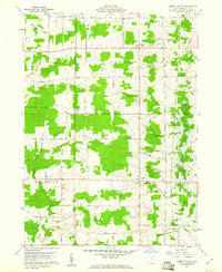 Download a high-resolution, GPS-compatible USGS topo map for Cherry Valley, OH (1961 edition)