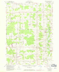 Download a high-resolution, GPS-compatible USGS topo map for Cherry Valley, OH (1971 edition)