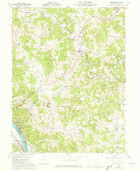 Download a high-resolution, GPS-compatible USGS topo map for Chester, OH (1973 edition)