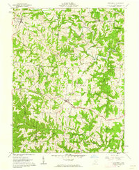 Download a high-resolution, GPS-compatible USGS topo map for Chesterhill, OH (1962 edition)