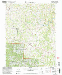 Download a high-resolution, GPS-compatible USGS topo map for Chesterhill, OH (2006 edition)