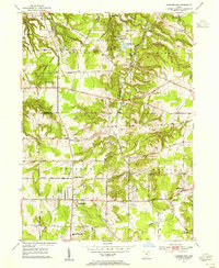 Download a high-resolution, GPS-compatible USGS topo map for Chesterland, OH (1955 edition)