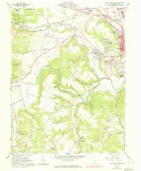 Download a high-resolution, GPS-compatible USGS topo map for Chillicothe West, OH (1972 edition)