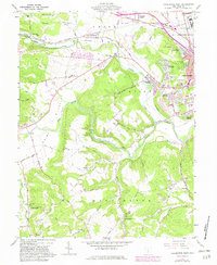 Download a high-resolution, GPS-compatible USGS topo map for Chillicothe West, OH (1982 edition)