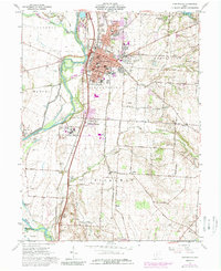 Download a high-resolution, GPS-compatible USGS topo map for Circleville, OH (1989 edition)