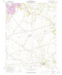 Download a high-resolution, GPS-compatible USGS topo map for Clarksburg, OH (1975 edition)