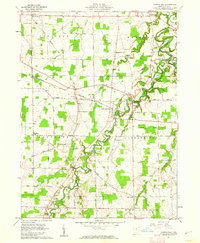 Download a high-resolution, GPS-compatible USGS topo map for Clarksfield, OH (1962 edition)