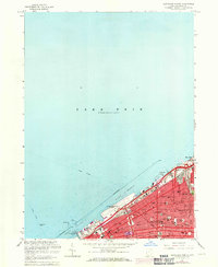 Download a high-resolution, GPS-compatible USGS topo map for Cleveland North, OH (1971 edition)