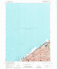 Download a high-resolution, GPS-compatible USGS topo map for Cleveland North, OH (1992 edition)