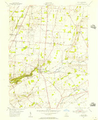 Download a high-resolution, GPS-compatible USGS topo map for Clifton, OH (1956 edition)