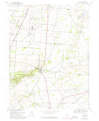 Download a high-resolution, GPS-compatible USGS topo map for Clifton, OH (1975 edition)