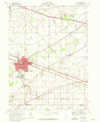 Download a high-resolution, GPS-compatible USGS topo map for Clyde, OH (1971 edition)