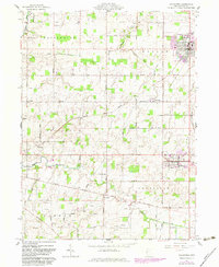 Download a high-resolution, GPS-compatible USGS topo map for Coldwater, OH (1983 edition)