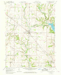 Download a high-resolution, GPS-compatible USGS topo map for College Corner, OH (1970 edition)