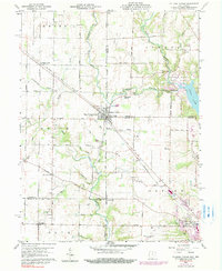 Download a high-resolution, GPS-compatible USGS topo map for College Corner, OH (1990 edition)