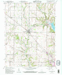 Download a high-resolution, GPS-compatible USGS topo map for College Corner, OH (1995 edition)