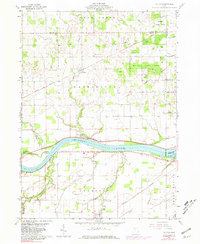 Download a high-resolution, GPS-compatible USGS topo map for Colton, OH (1981 edition)