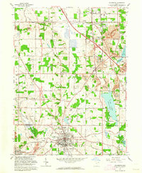 Download a high-resolution, GPS-compatible USGS topo map for Columbiana, OH (1964 edition)
