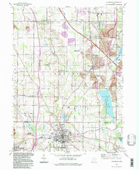 Download a high-resolution, GPS-compatible USGS topo map for Columbiana, OH (1997 edition)