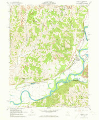 Download a high-resolution, GPS-compatible USGS topo map for Conesville, OH (1973 edition)