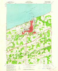 Download a high-resolution, GPS-compatible USGS topo map for Conneaut, OH (1962 edition)