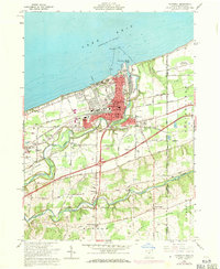 Download a high-resolution, GPS-compatible USGS topo map for Conneaut, OH (1971 edition)