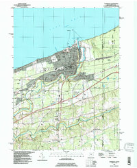 Download a high-resolution, GPS-compatible USGS topo map for Conneaut, OH (1996 edition)