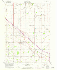Download a high-resolution, GPS-compatible USGS topo map for Convoy, OH (1972 edition)
