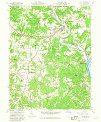 Download a high-resolution, GPS-compatible USGS topo map for Coolville, OH (1968 edition)