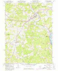 Download a high-resolution, GPS-compatible USGS topo map for Coolville, OH (1977 edition)