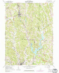 Download a high-resolution, GPS-compatible USGS topo map for Corning, OH (1976 edition)