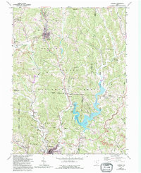 Download a high-resolution, GPS-compatible USGS topo map for Corning, OH (1995 edition)