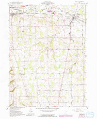 Download a high-resolution, GPS-compatible USGS topo map for Creston, OH (1991 edition)