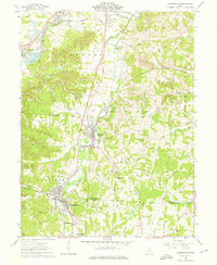 Download a high-resolution, GPS-compatible USGS topo map for Crooksville, OH (1976 edition)