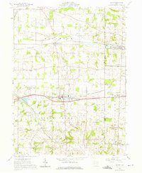Download a high-resolution, GPS-compatible USGS topo map for Dalton, OH (1975 edition)