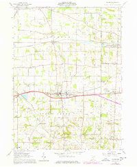 Download a high-resolution, GPS-compatible USGS topo map for Dalton, OH (1978 edition)