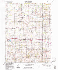 Download a high-resolution, GPS-compatible USGS topo map for Dalton, OH (1998 edition)