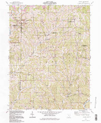 Download a high-resolution, GPS-compatible USGS topo map for Dalzell, OH (1998 edition)