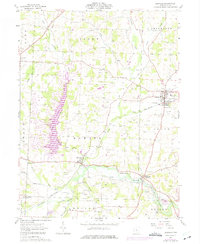 Download a high-resolution, GPS-compatible USGS topo map for Danville, OH (1975 edition)